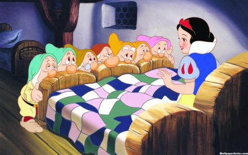 snow white and the seven dwarfs short story