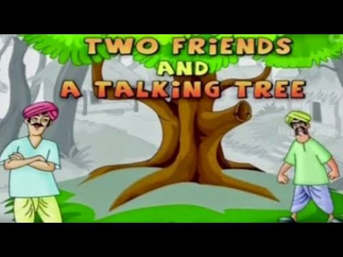 Two Friends And A Talking Tree - Bedtimeshortstories