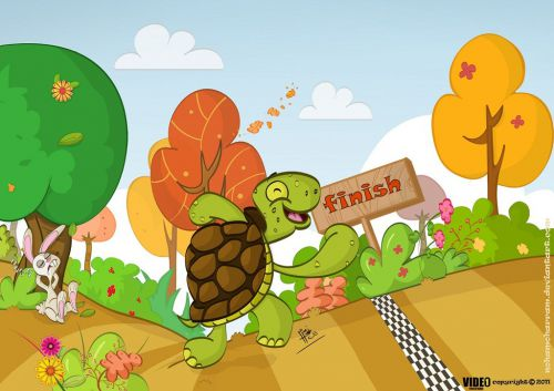 hare and tortoise story Image Source--> @www.imgarcade.com