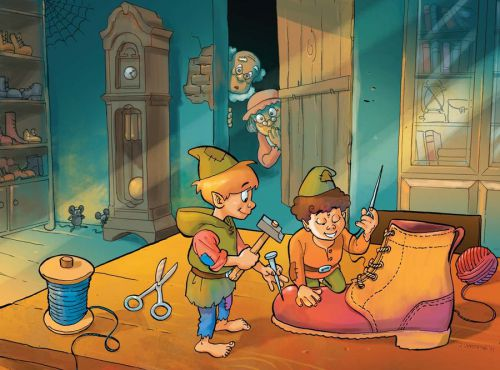 the elves and the shoemaker story