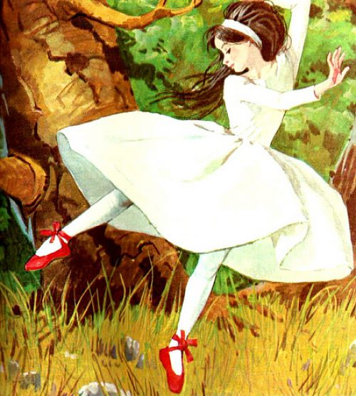The Red Shoes Fairy Tale Short Story