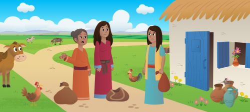 Ruth and Naomi Bible Story