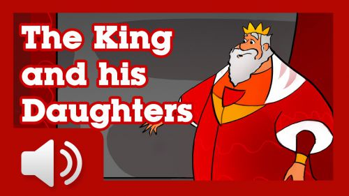 the king and his three daughters story