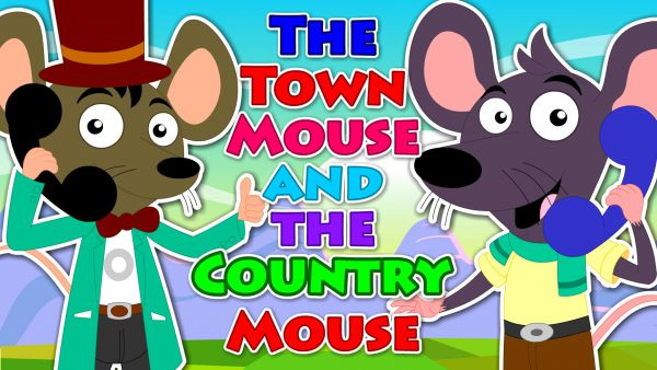 town mouse and country mouse story for kids