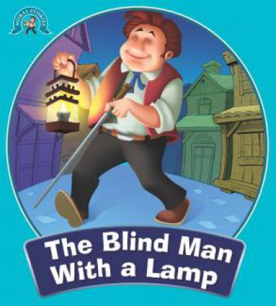 the blind man with a lamp