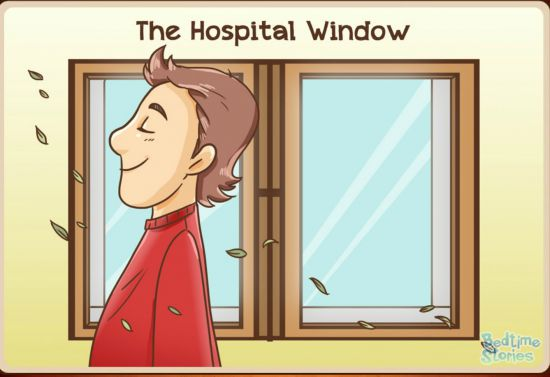 the hospital window